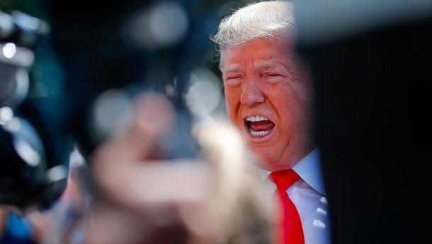 """Trump hält Lager für Migranten für """"wirklich gut betrieben"""""""