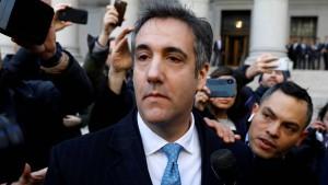Cohen gesteht Lüge in Russland-Affäre
