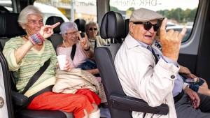 Mit 95 Jahren nach Wacken