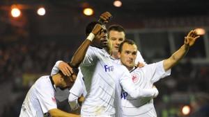 Eintracht im Glück – Idrissou trifft spät