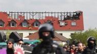 Mehr als 3500 Angriffe auf Flüchtlinge