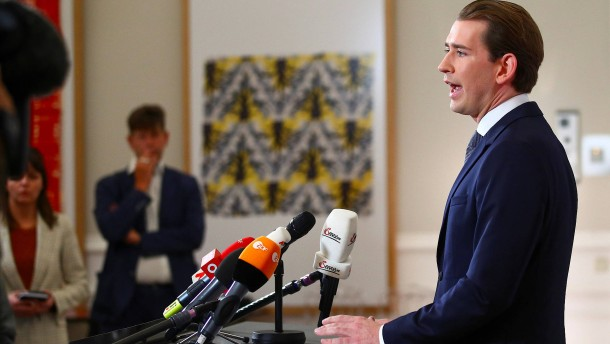 Bundeskanzler Kurz tritt nicht zurück