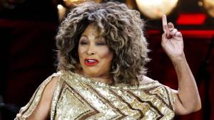 Tina Turner sagt Grüezi