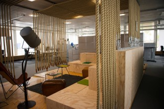 arbeitsplatz der zukunft bietet sport spiel und spa. Black Bedroom Furniture Sets. Home Design Ideas