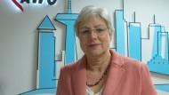 Petra Rossbrey ist seit anderthalb Wochen im Amt.