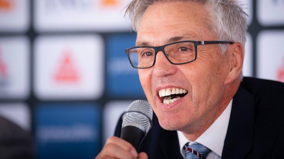 Gerade erst angekommen, schon ohne Sportdirektor: der neue Bundestrainer Gordon Herbert