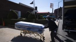 Johns-Hopkins-Universität: Mehr als 10.000 Corona-Tote in Amerika