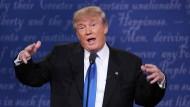 Der republikanische Präsidentschaftskandidat Donald Trump