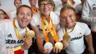 Deutsche Paralympics-Athleten aus Rio zurück
