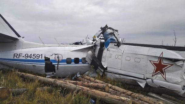 Mehrere Tote bei Flugzeugabsturz