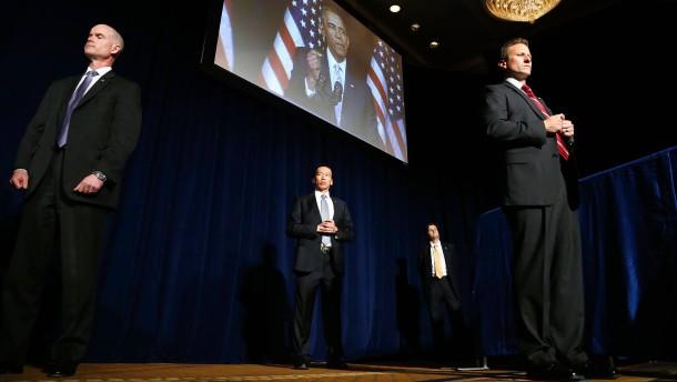 Alkoholverbot für Obamas Bodyguards