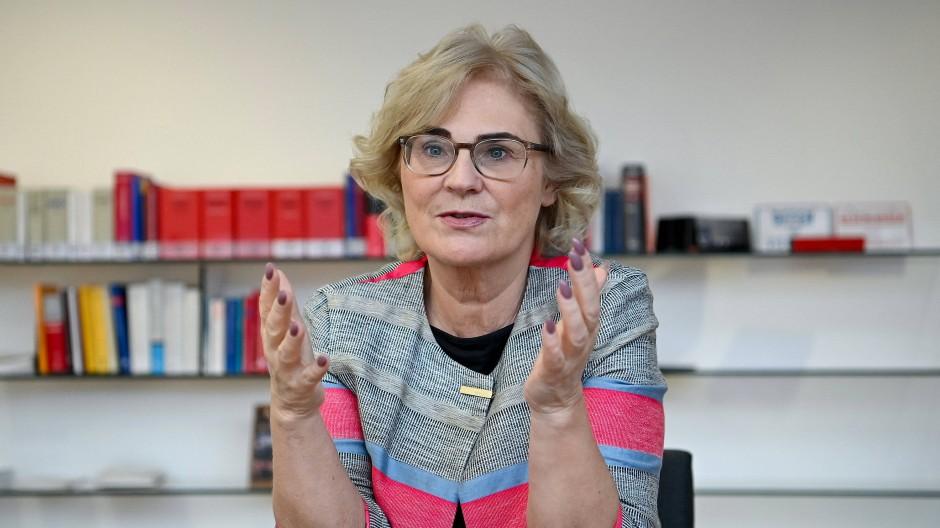 Justizministerin Christine Lambrecht (SPD)