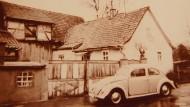 Goldmans Geburtshaus in Trappstadt in einer Aufnahme aus den 1970er Jahren. 1975 wurde es abgerissen.