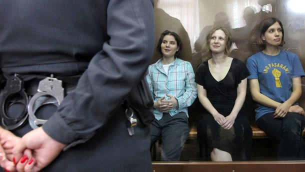 Gericht: Zwei Jahre Haft für Pussy Riot