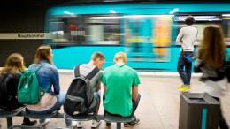 Entgleiste U-Bahn sorgt für Ausfälle in Frankfurt