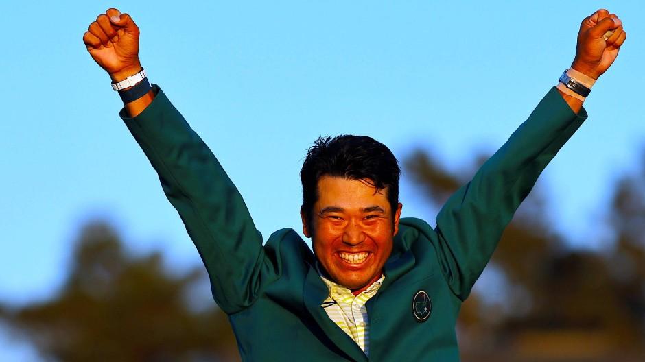 Es war kein leichter Weg: Hideki Matsuyama musste in Augusta eine strapaziöse Schlussrunde bestehen.