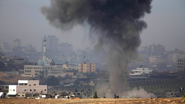 Feature Angriff auf Gazastreifen