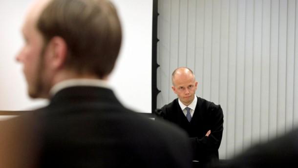Staatsanwalt: Breivik ist nicht zurechnungsfähig