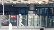 Ermittler sichern Spuren in der Manchester Arena