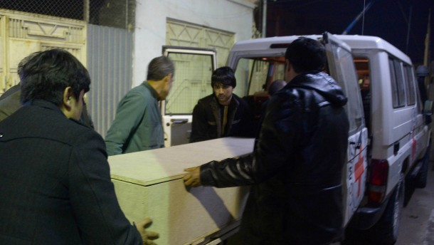 Rotes Kreuz stoppt Arbeit in Afghanistan