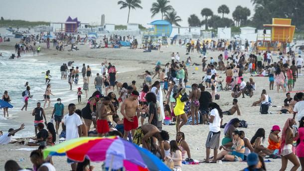Miami Beach verhängt Ausgangssperre