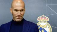 Zinedine Zidane übernimmt wieder das Traineramt bei Real Madrid.