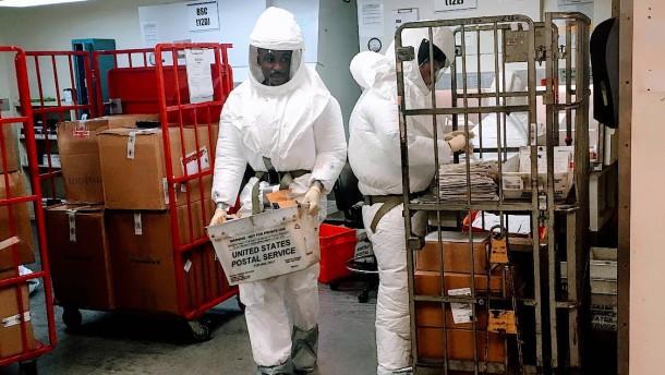 Pentagon erhält Post mit verdächtiger Substanz