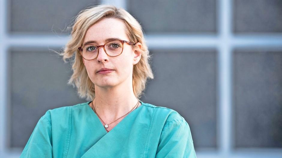Clarissa Grußdorf, 29, Intensivkrankenpflegerin und Vorstandsmitglied des Bochumer Bundes.