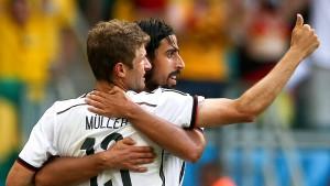 Perfekt gelaufen gegen Portugal