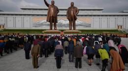Nordkorea feiert Nationalfeiertag