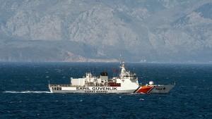 Türkisches Militärboot soll in griechisches Gewässer gefahren sein