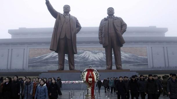 Nordkorea erinnert an Kim Jong-il
