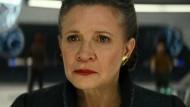 """Ein letztes Mal Prinzessin """"Leia"""""""