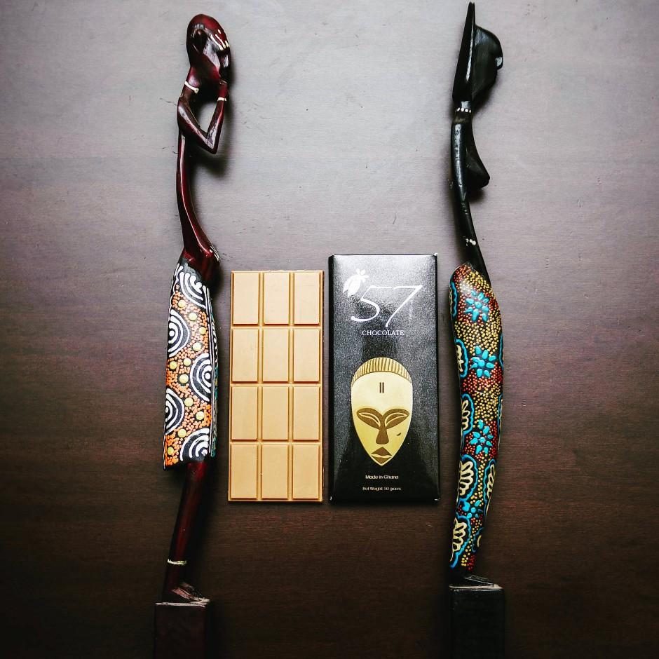Made in Ghana: 57Chocolate heißt die Marke der beiden Addison-Schwestern.