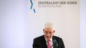 Zentralrat der Juden kritisiert Staatsanwaltschaft