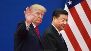 Trump droht China mit neuen Zöllen