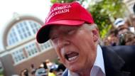 Trump wettert wieder gegen illegale Einwanderer
