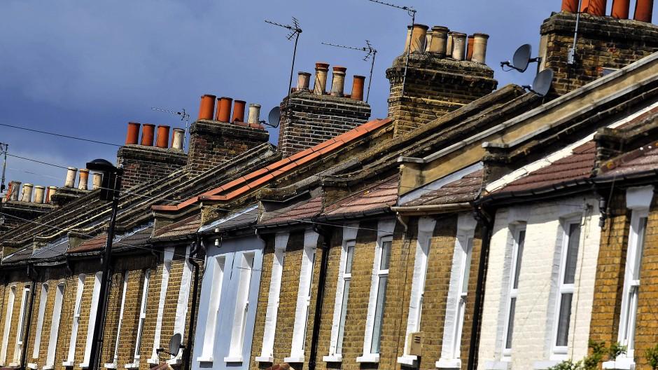 Immobilien sind für viele Briten zurzeit unbezahlbar