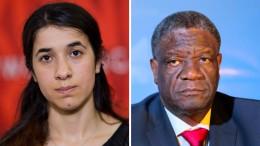 Denis Mukwege und Nadia Murad erhalten Friedensnobelpreis