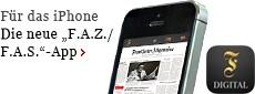 """Die """"F.A.Z. / F.A.S.""""-App"""