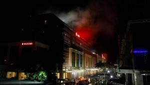 Schüsse und Explosion in Hotel in Manila