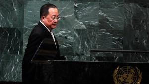 """Nordkoreas Außenminister nennt Angriff auf Amerika """"unvermeidlich"""""""