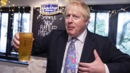 Umfrage prognostiziert klaren Sieg für Johnson