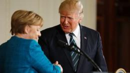 """""""Trump hat Deutschland aufs Korn genommen"""""""