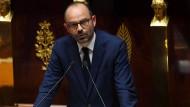 Wird konkret: Premierminister Edouard Philippe bei seiner Regierungserklärung vor der Nationalversammlung