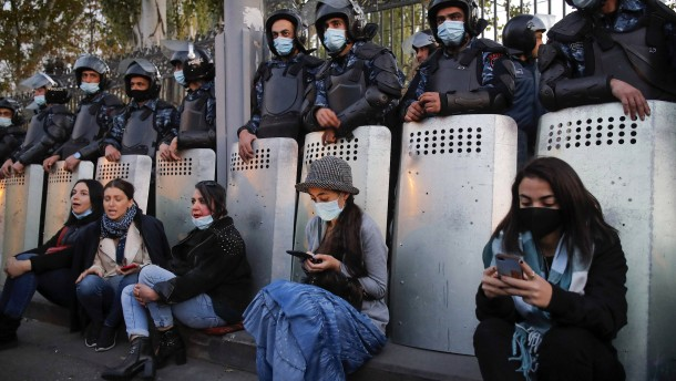 Mehrere Oppositionsführer in Armenien festgenommen