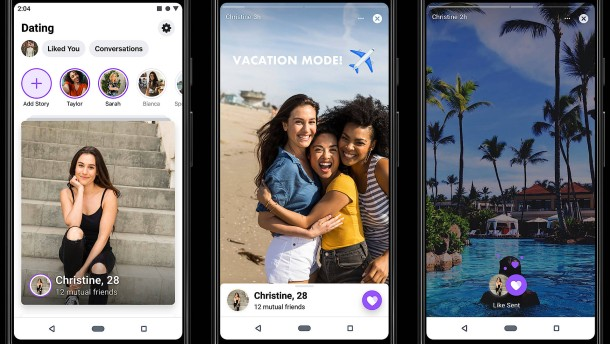 Facebook hilft bald beim Dating