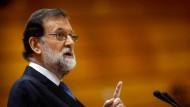 Madrid leitet Zwangsmaßnahmen gegen Katalonien ein