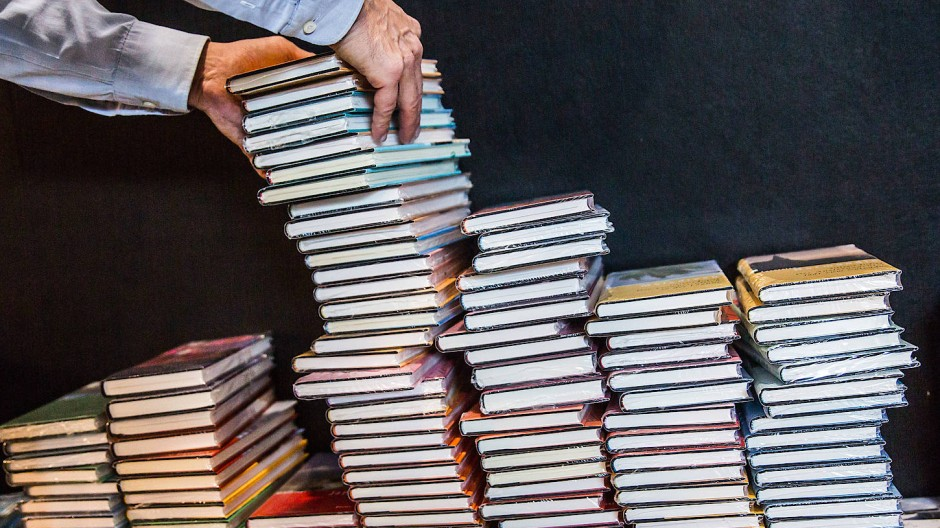 Trotz Pandemie: Die Frankfurter Buchmesse soll auch 2020 wieder stattfinden.