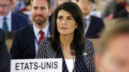 Austritt der Vereinigten Staaten stößt auf breite Kritik